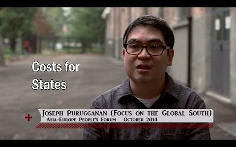 Joseph Purugganan (Focus on the Global South): Costs for states