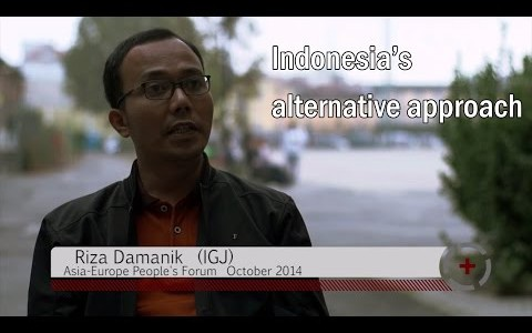 Riza Damanik (IGJ): Indonesia's alternative approach