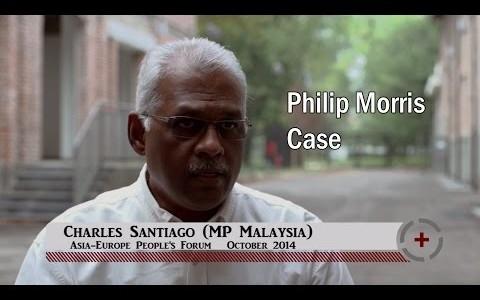 Charles Santiago (MP Malaysia): Philip Morris Case