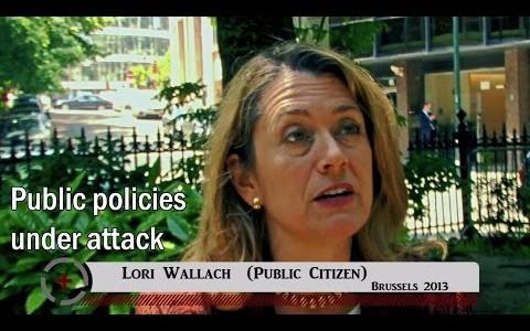 Lori Wallach (Public Citizen): Public policies under attack